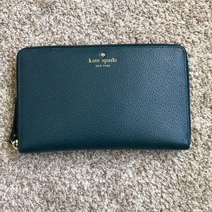 Kate Spade Large Leather Travel Wallet